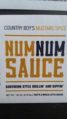 Num Num Sauce- Mustard Spice 133 oz (gallon)