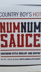 Num Num Sauce-Hot-133oz (gallon)