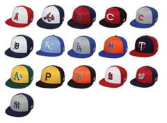 MLB Colorblock Replica Mesh Caps