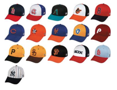 Cooperstown Replica Caps