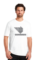UNISEX Perfect Tri Made T-Shirt with Vegas Flyer Logo