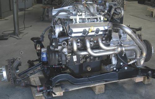 F40 Wcf Heavy Duty Transaxle Installation Parts Fiero