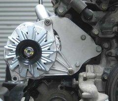 Alternator Bracket and Idler Pulley (1996 - 1999 ENGINES) Rivira Park Avenue Bonneville Lesabre Regency OLDS LSS