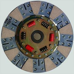 "Stage 2: 9-11/16"" Bronze Ceramic / Organic Clutch Disk"