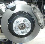 """Mounting Hardware 14"""" Brakes (1984 - 1988)"""