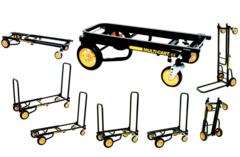 """Convertible Hand Truck, Steel, 500 lb., Overall Height 33-1/4"""" - Cart-RT6"""