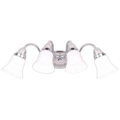 4-Light Chrome Bath Light