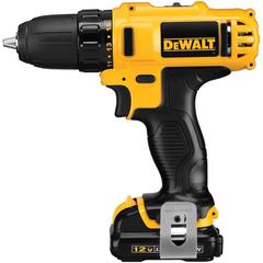 DEWALT 12-Volt Max Lithium-Ion 3/8 in. Cordless Drill/Driver Kit - DCD710S2