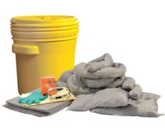 CONDOR Universal Spill Kit, 20 gal. Drum - 35ZR69