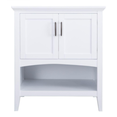 Brattleby 30 in. Vanity Cabinet Only in White