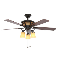Alicante 52 in. Natural Iron Ceiling Fan