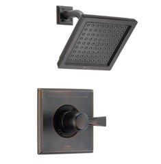 Delta Dryden 1-Handle 1-Spray Raincan Shower Faucet Trim Kit in Venetian Bronze (Valve Not Included) - T14251-RB
