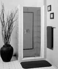 """Contractors Wardrobe 34""""-36"""" Rotary Gear Shower Door - 5400H"""
