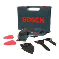 Bosch 2.3 Amp Corded Variable Speed Corner/Detail Random Orbital Sander Kit with Hard Case (24 Accessories) - 1294VSK