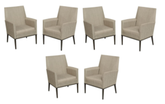 Aria Patio Dining Chairs (6-Pack)