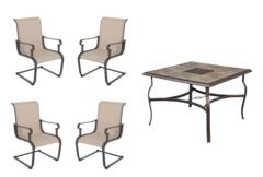 Belleville 5-Piece Sling Outdoor Dining Set