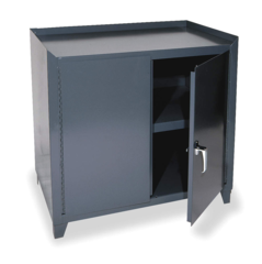 DURHAM Gray Work Table Cabinet - 3000-95