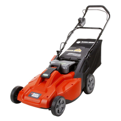 BLACK+DECKER 19 in. 36-Volt Cordless Electric Lawn Mower with Removable Battery - CM1936