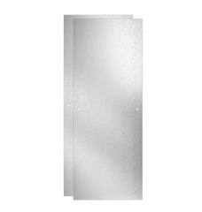 Delta 48 in. Sliding Shower Door Glass Panels in Rain (1-Pair) - #155541