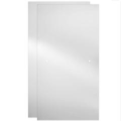 Delta 60 in. Sliding Bathtub Door Glass Panels in Clear (1-Pair) - #155140