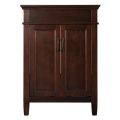 Ashburn 24 in. W x 21.5 in. D x 34 in. H Vanity Cabinet Only in Mahogany