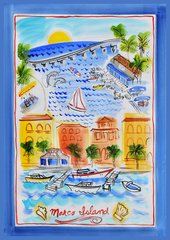 Marco Island Tea Towel