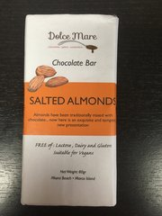 Salted Almonds Chocolate Bar