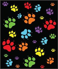 Paws Design Fleece Blanket