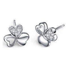 Clover Heart Earrings