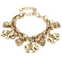 Elephant Heart Ankle Bracelet