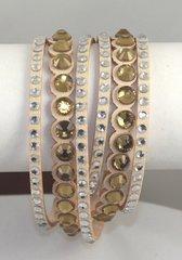 Interchangeable Twisted Leather Bracelet