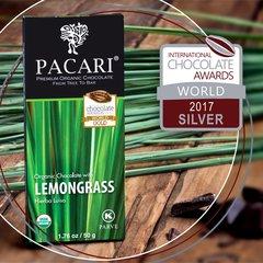 Pacari Lemongrass Organic Chocolate Bar