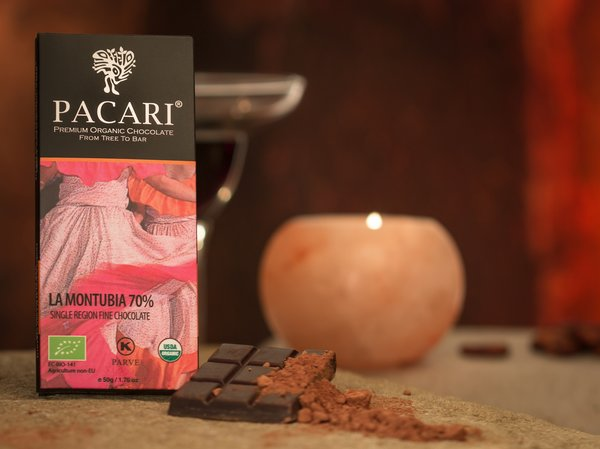 Pacari LaMontubia 70% Organic Chocolate Bar