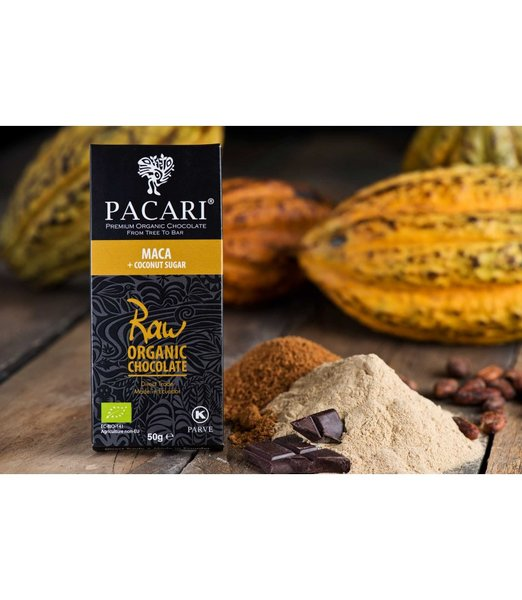 SALE - Pacari Raw 70% with Maca Organic Chocolate Bar
