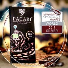 Pacari Lacumbia 70% Organic Chocolate Bar