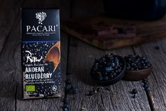 Pacari Raw 70% with Andean Blueberry Organic Chocolate Bar