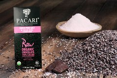 Pacari Raw 70% with Salt & Nibs Organic Chocolate Bar