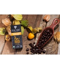 Pacari Org. choc. Covered golden berries RAW