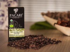 Pacari Org. choc. Covered cacao Nibs