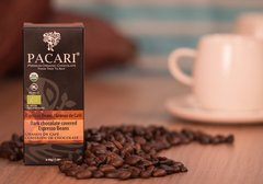 Pacari Org. choc. Covered espresso beans