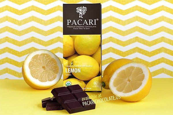 Pacari Lemon Organic Chocolate Bar