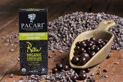 Pacari Org. choc. Covered cacao nibs RAW