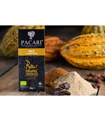 Pacari Raw 70% with Maca Organic Chocolate Bar