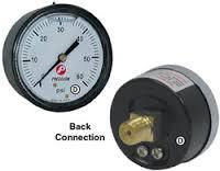 """2"""" Pump Pressure Gauge Back Mount 1/8"""""""