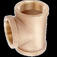 Cast Brass Threaded Tees