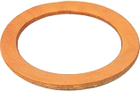 Well Cylinder Leather Packing Ring 2 Pack - Select From Drop Down