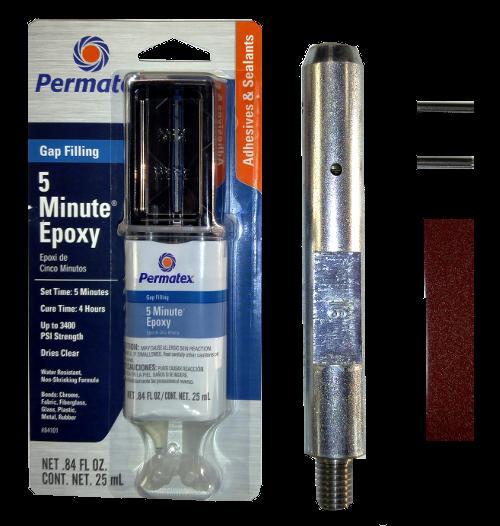 "Balance Ball Repair Kit: Fiberglass Windmill Pump Rod 5/8"" FG X 5/8"" Female Repair"