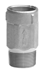 "4242SS2 1-1/4"" MIP X FIP Stainless Steel Submersible Check Valve"