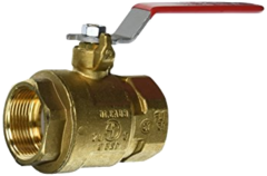 Threaded Lead Free Brass Ball Valves
