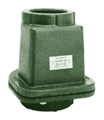 "ZOELLER 30-0152 2"" CAST IRON FPT CHECK VALVE"